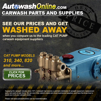 Autowash Online Cat Pump